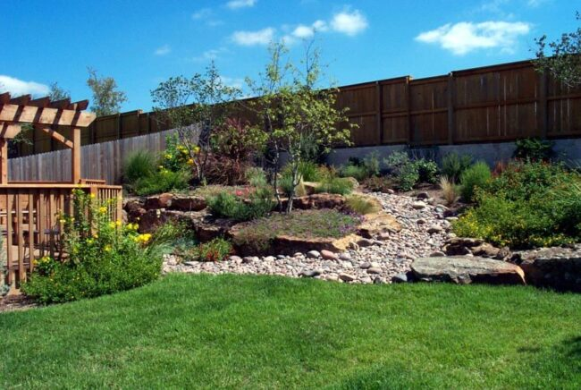15 Sloped Backyard Ideas On A Budget - Garden To Patio on Small Sloped Backyard Ideas On A Budget id=96269